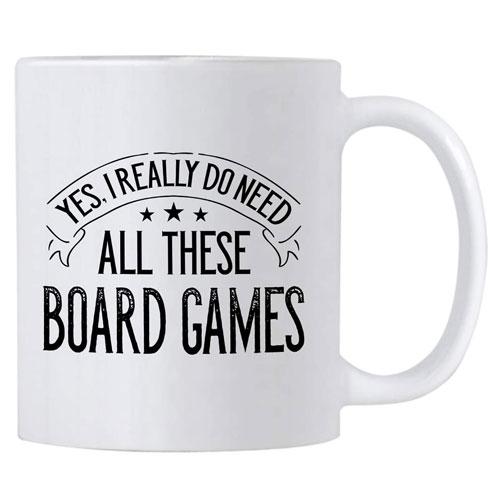 board game lover coffee mug