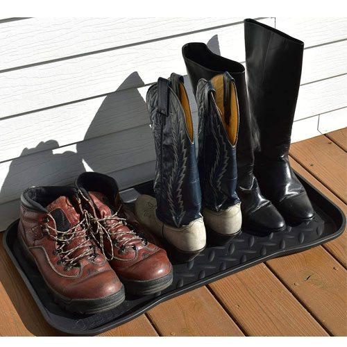 boot tray storage mat