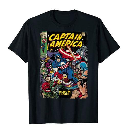 captain america comic cover shirt