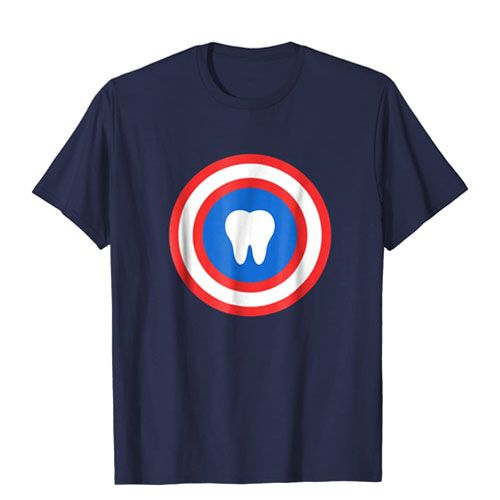 captain tooth shirt