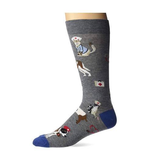 cat dogs veterinarian socks