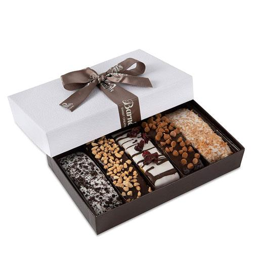 chocolate biscotti gift box