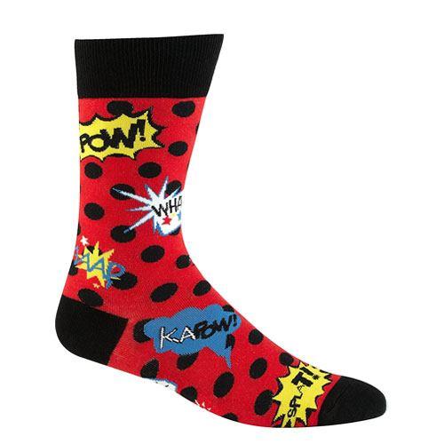 comic book action socks