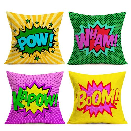 exclamation pillow covers gift idea