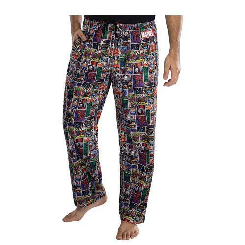 comic book pajama pants