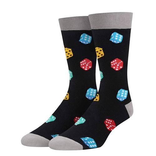 dice socks pair