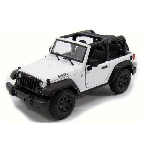 diecast jeep wrangler model present