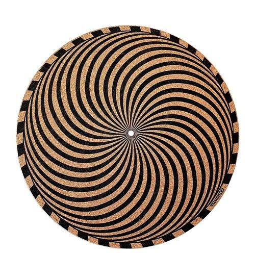 geometric turntable slipmat