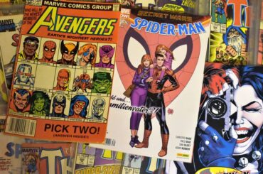 gifts for comic book lovers nerds