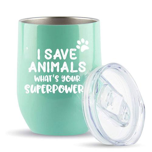 i save animals tumbler