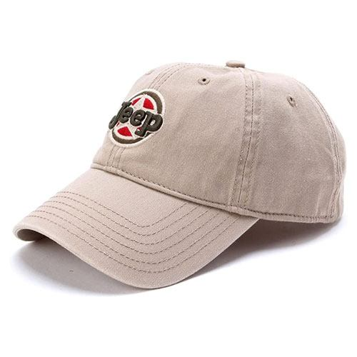 jeep embroidered logo cap