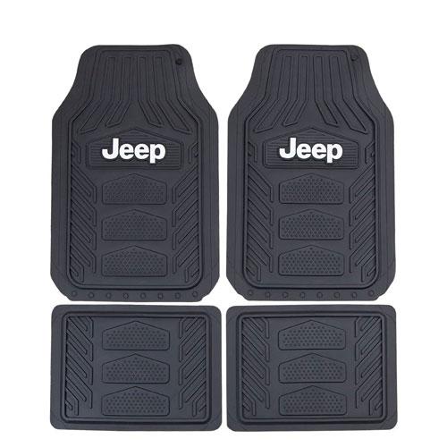 jeep floor mat set present