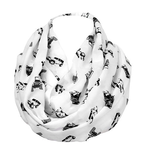 jeep infinity scarf gift idea