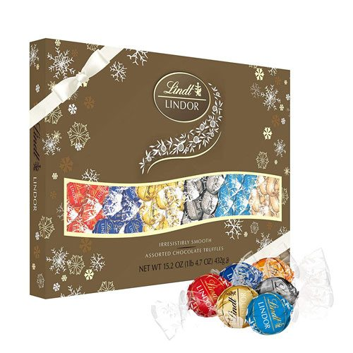 lindt assorted truffles gift box
