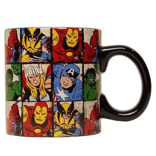 marvel comic book mug