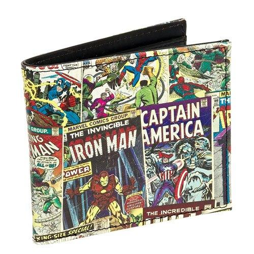 marvel comic book wallet