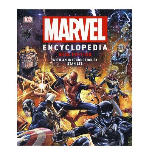 marvel encyclopedia book