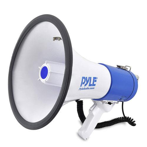 megaphone speaker present