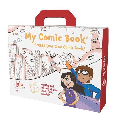 my comic book making kit