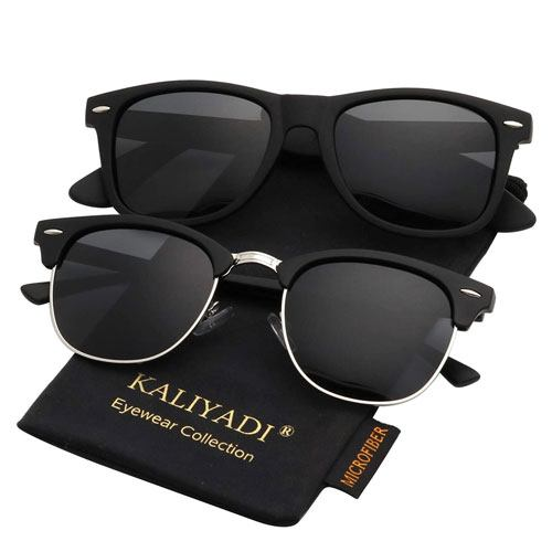 polarized unisex sunglasses pair
