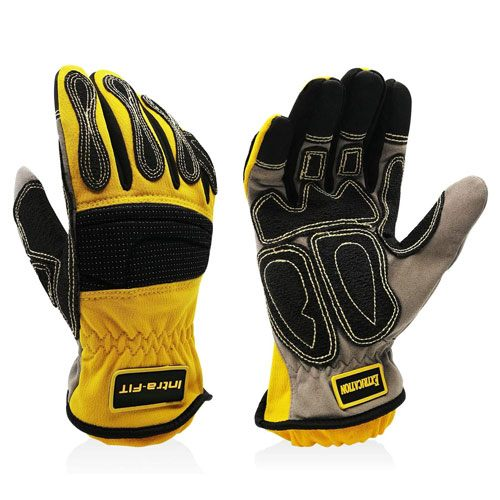 construction workers protective work gloves