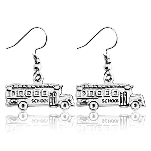 school bus earrings jewelry