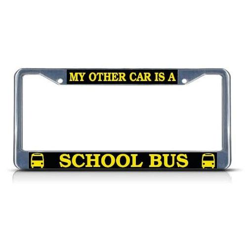 license plate gift for bus drivers