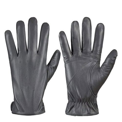 sheepskin leather driving gloves