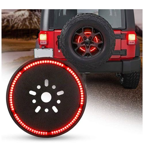 spare tire brake light for jeeps