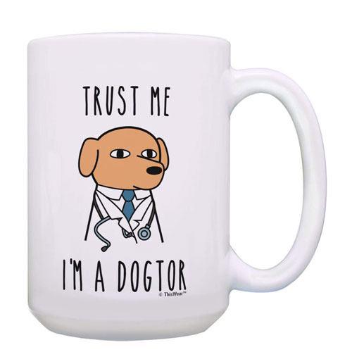 trust me i'm a dogtor mug