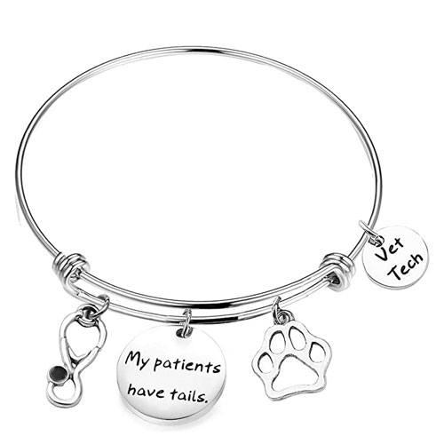 vet tech charm bracelet