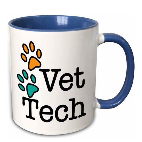 vet tech coffee mug