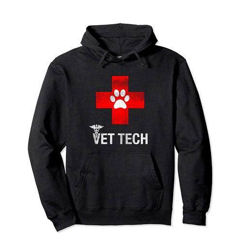vet tech hoodie apparel