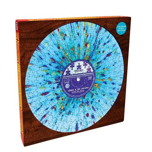 vinyl record jigsaw puzzle