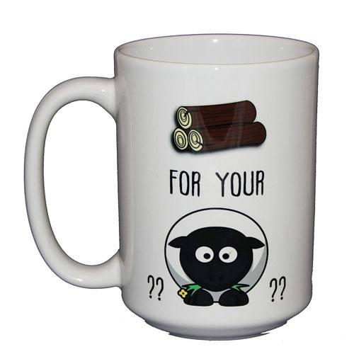 wood for your sheep mug