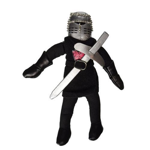 black knight plush doll toy