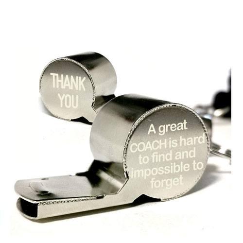 coach appreciation whistle gift idea