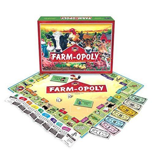 farm-opoly board game gift idea