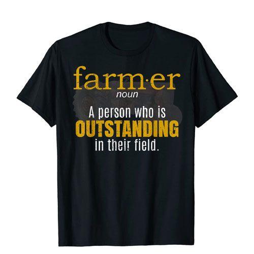 farmer definition t-shirt