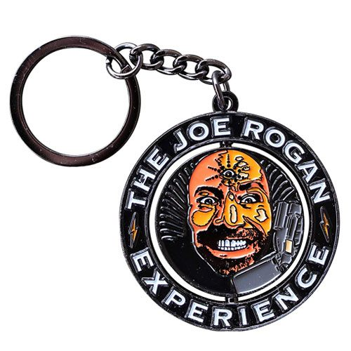 joe rogan experience podcast keychain