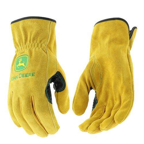 john deere leather gloves