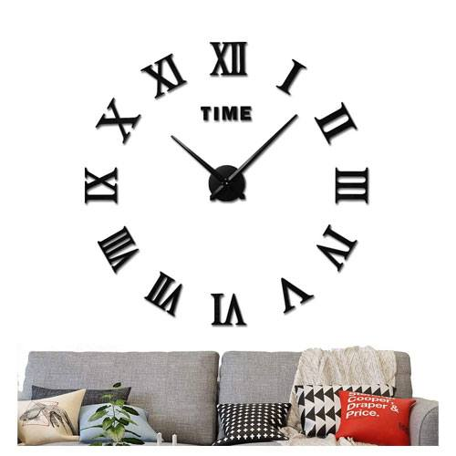 large diy wall clock kit