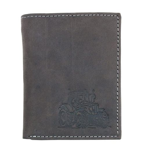 leather tractor wallet