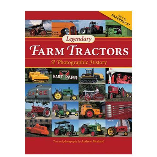 legendary farm tractors book