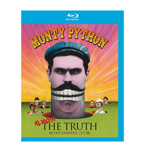 monty python almost the truth blu-ray