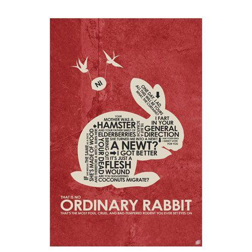 that's no ordinary rabbit poster artwork