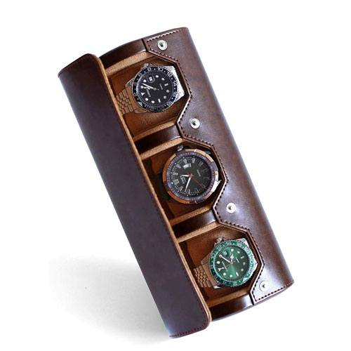 portable travel watch display holder