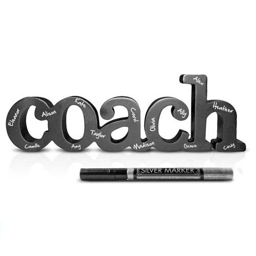 signed coach decor art