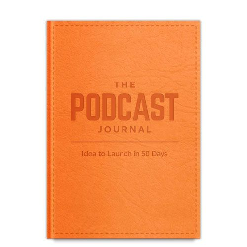 the podcast journal gift idea