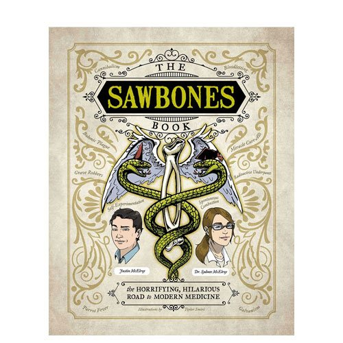 the sawbones book podcast gift idea